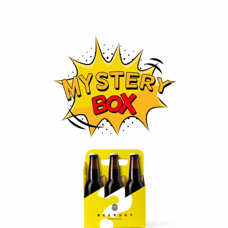 MysteryBox regular Birre Artigianali - da 3